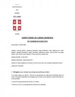 Réunion du conseil municipal du  05.06.20